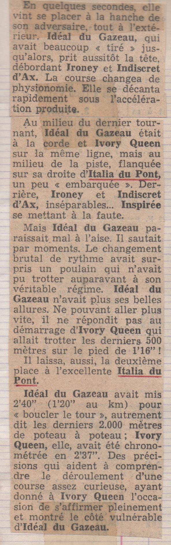 1977 Italia du Pont Criterium des 3 ans (2)
