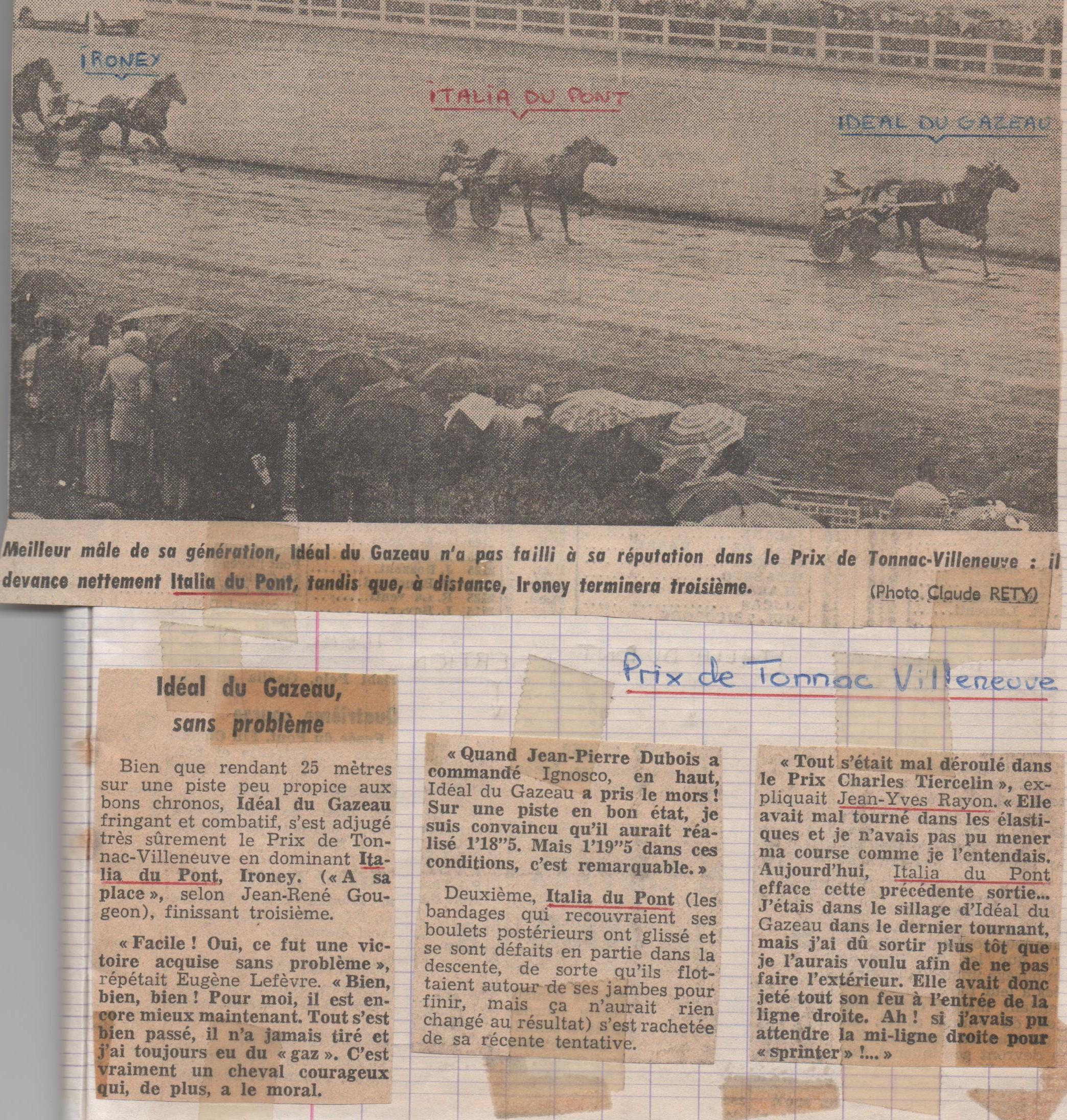 1978 01 22 Italia du Pont Prix de Tonnac Villeneuve