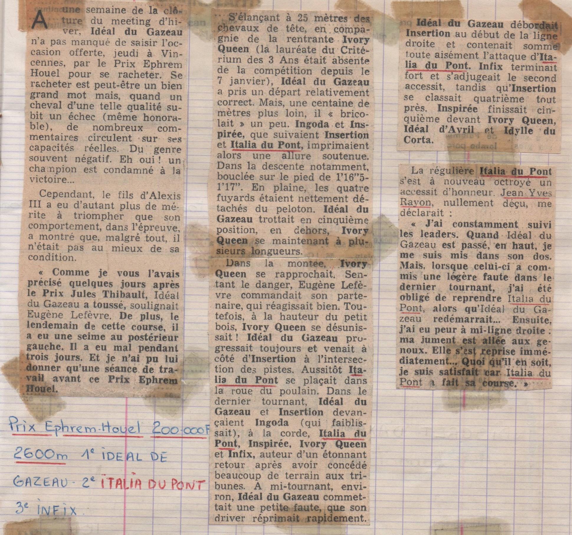 1978 02 23 Italia du Pont Prix Ephrem Houel (1)