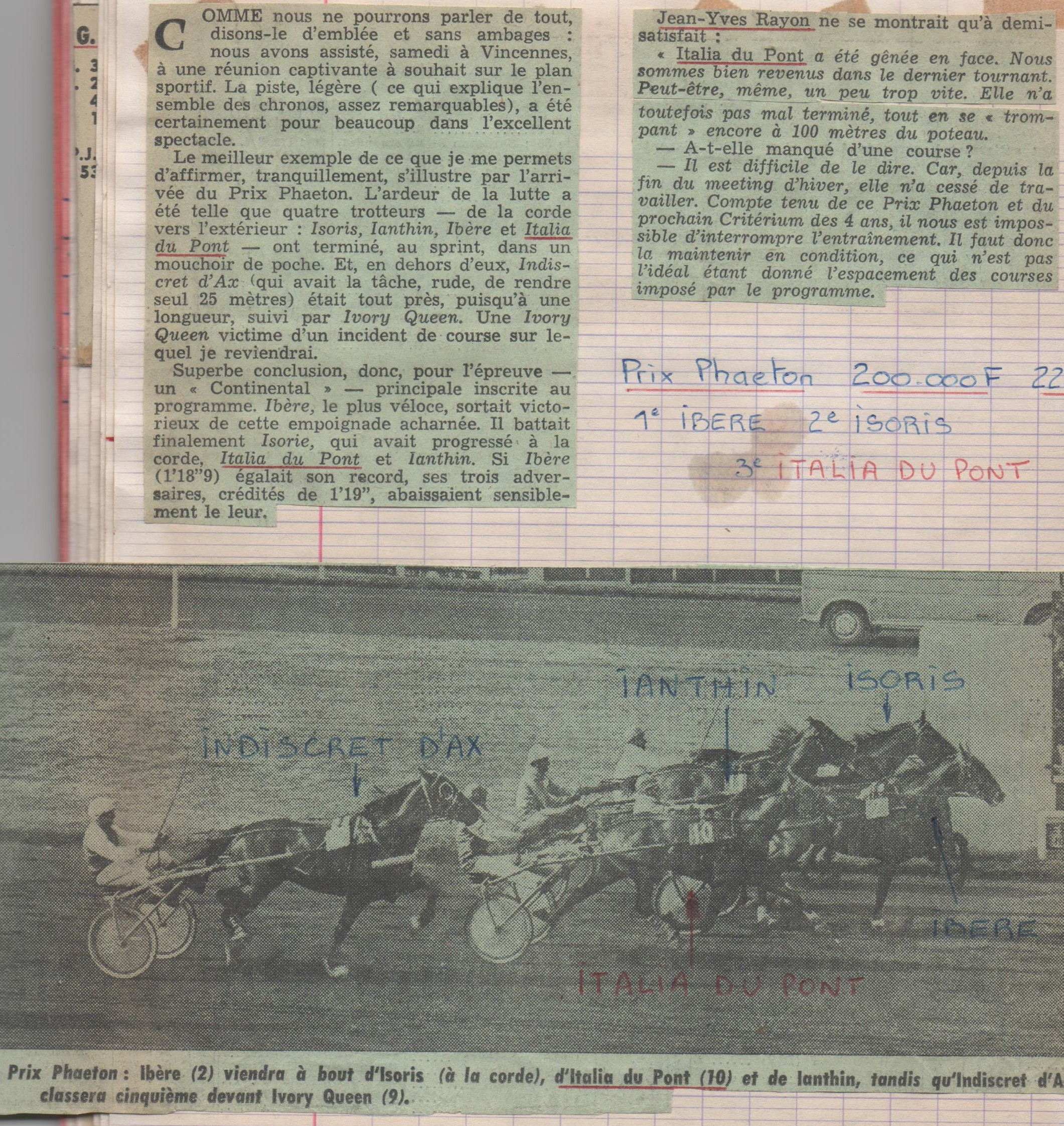 1978 04 08 Italia du Pont Prix Phaeton