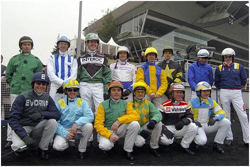 Les drivers du Prix d'Amérique 2005
