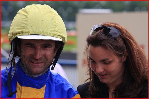 Jean- Michel Bazire et son épouse, Céline, fille de Jean-Yves