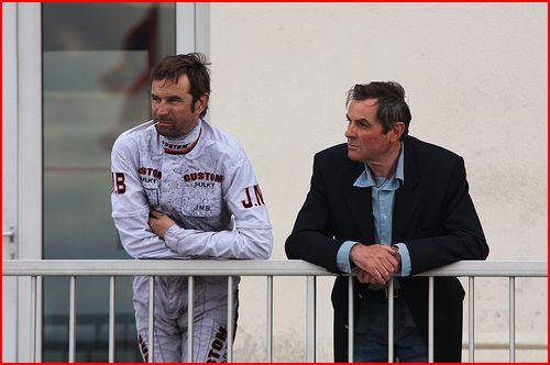 Jean-Yves et son gendre, Jean-Michel Bazire