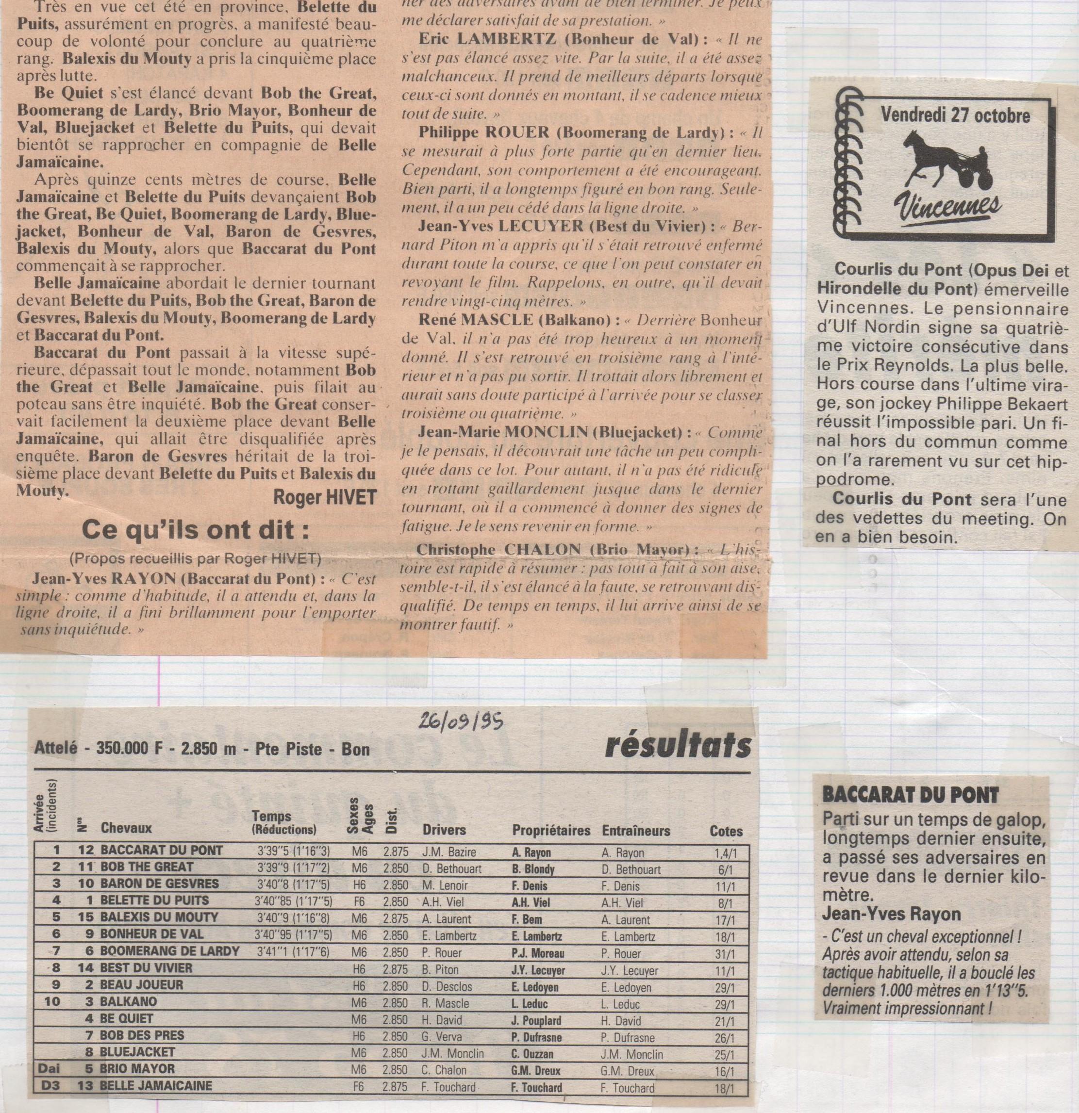 1995 09 26 Baccarat du Pont Prix Hera (2)
