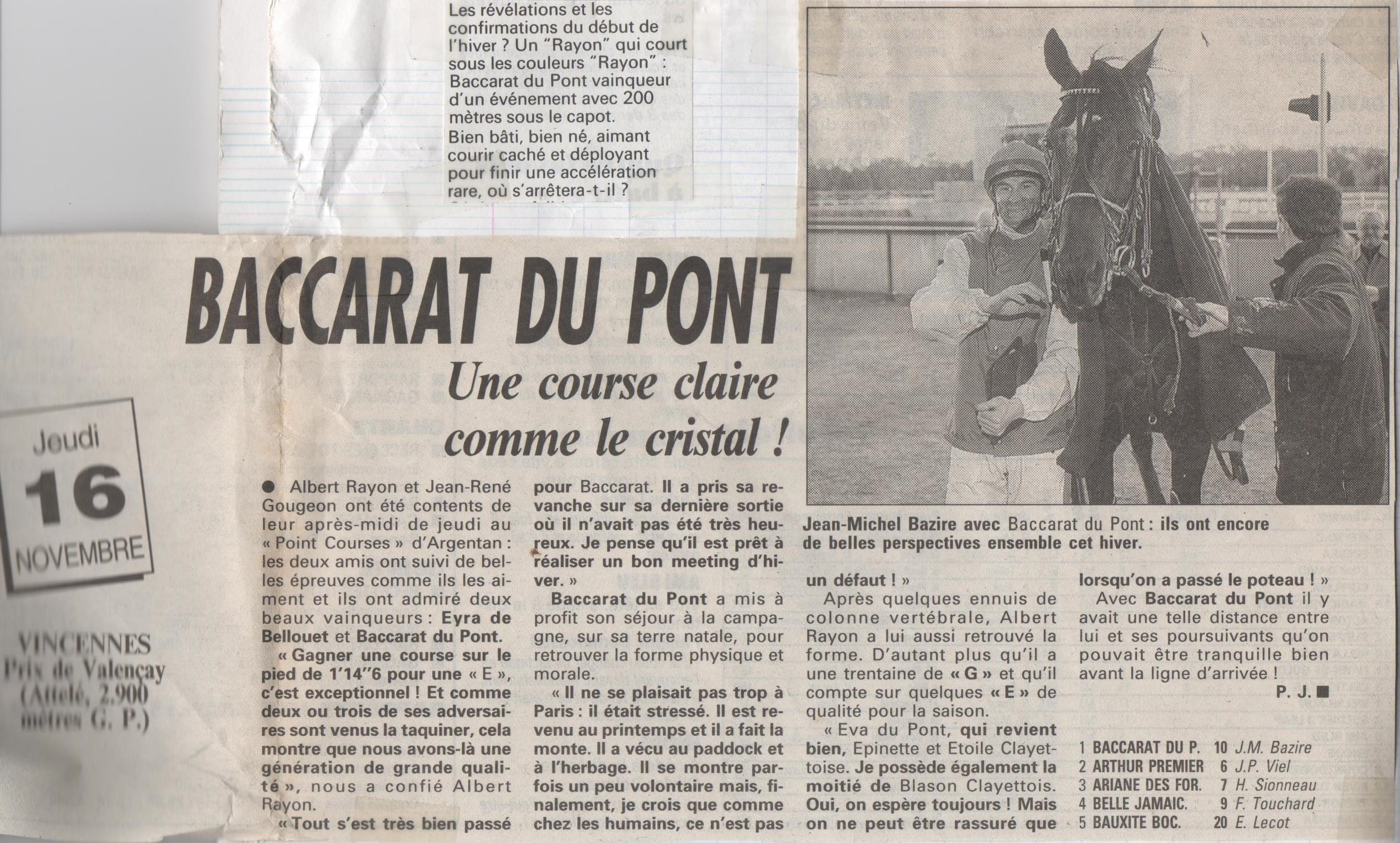 1995 11 16 Baccarat du Pont Prix de Valencay '2)