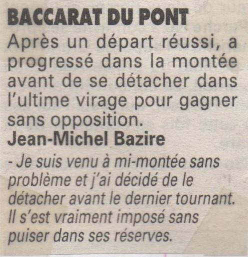 1995 11 16 Baccarat du Pont Prix de Valencay