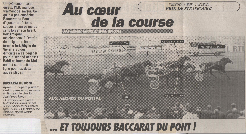 1995 12 16 Baccarat du Pont Prix de Strasbourg (1)