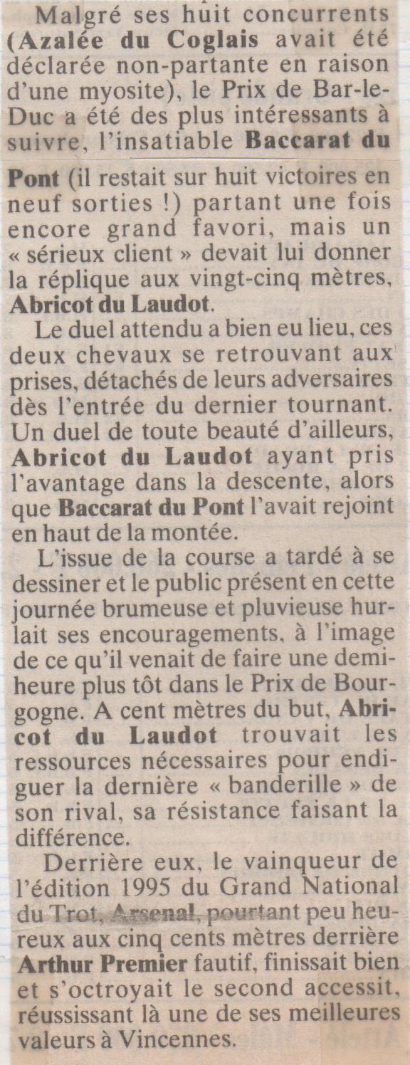 1995 12 31 Baccarat du Pont Prix de Bar le Duc (1)