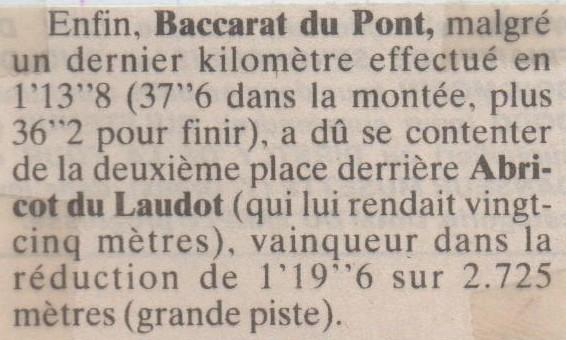 1995 12 31 Baccarat du Pont Prix de Bar le Duc