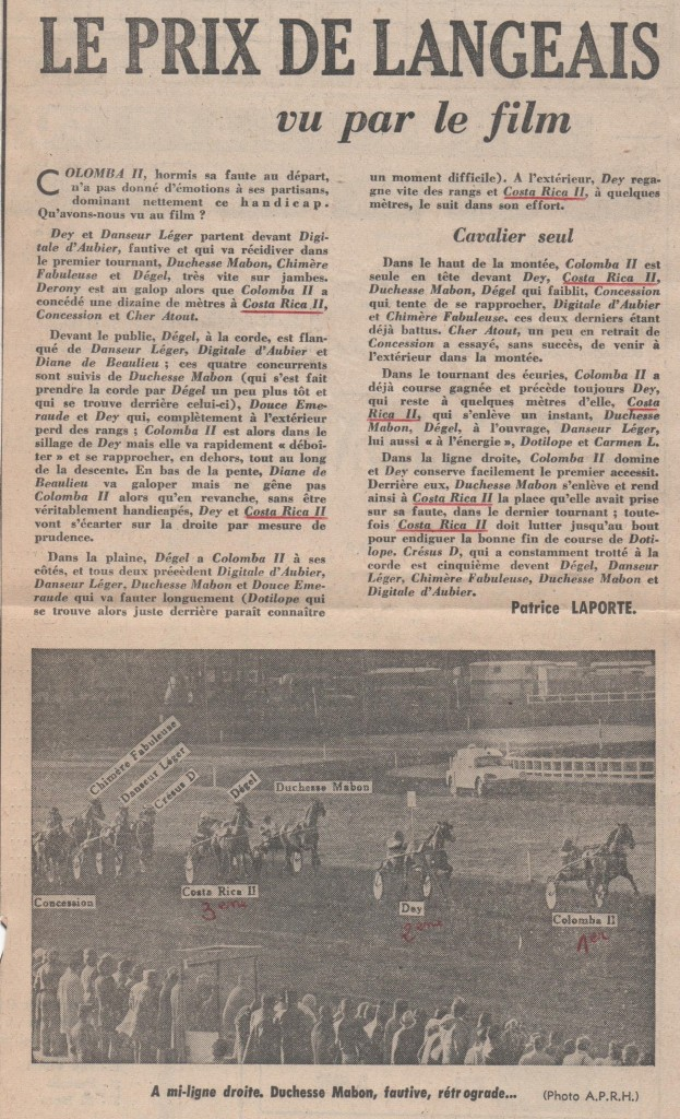 1975 Costa Rica II Prix de Langeais