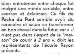 Davidson du Pont qualif 2