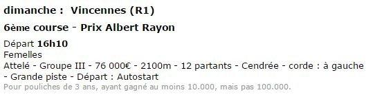 Prix Albert Rayon a