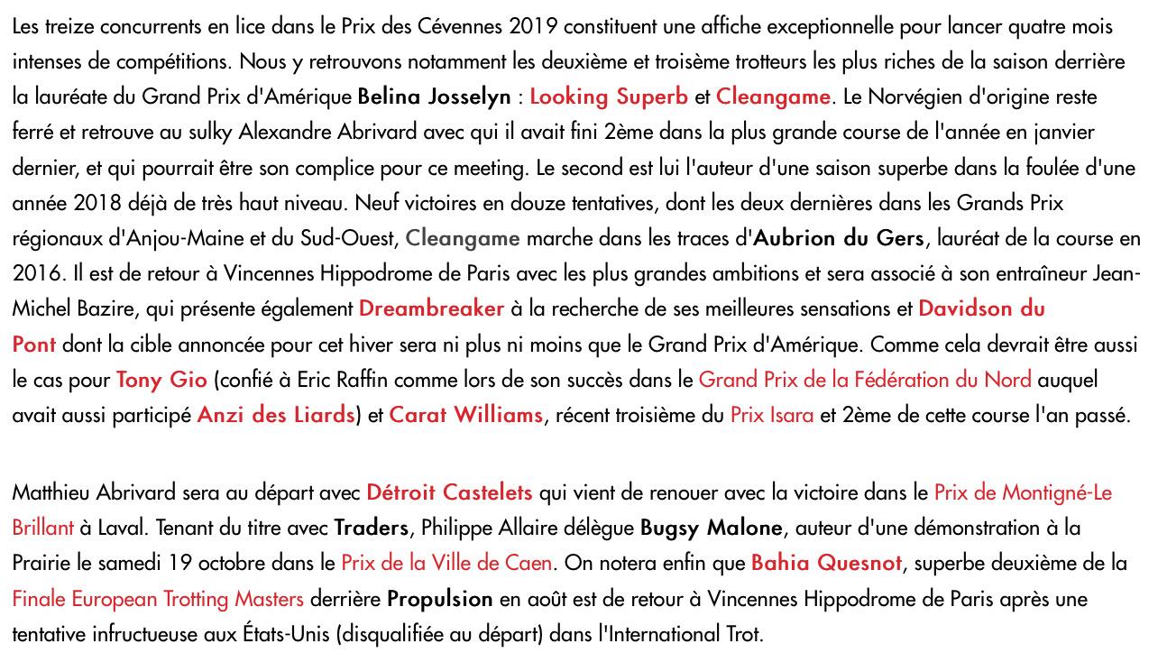 2019 10 28 Prix des Cevennes LT
