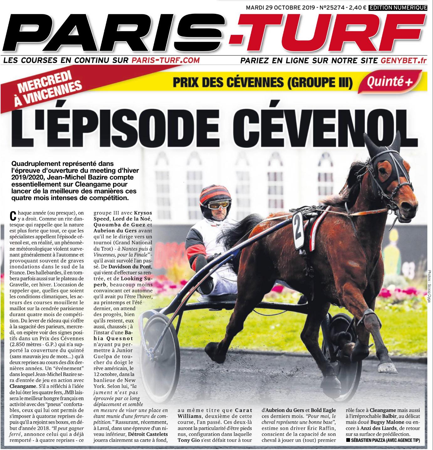 2019 10 28 Prix des Cevennes PT1